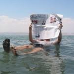 מדוע צפים בים המלח? מקור התמונה: Dead Sea Newspapers