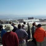 מבקרים במפעלי ים המלח